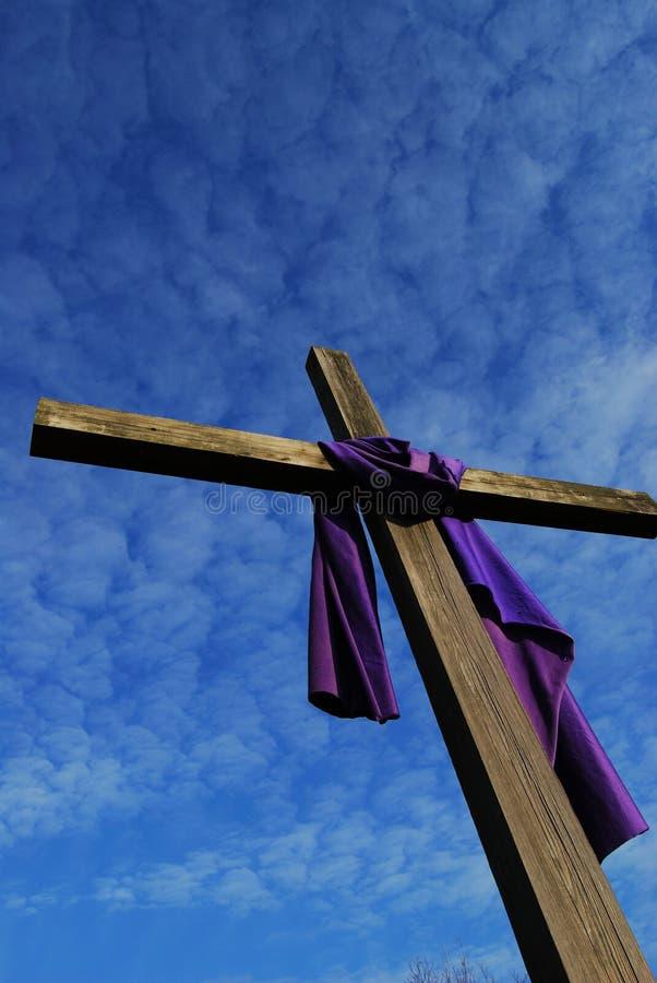 Croix de Pâques photo stock