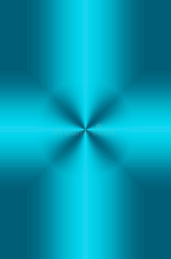 Croix de turquoise image stock