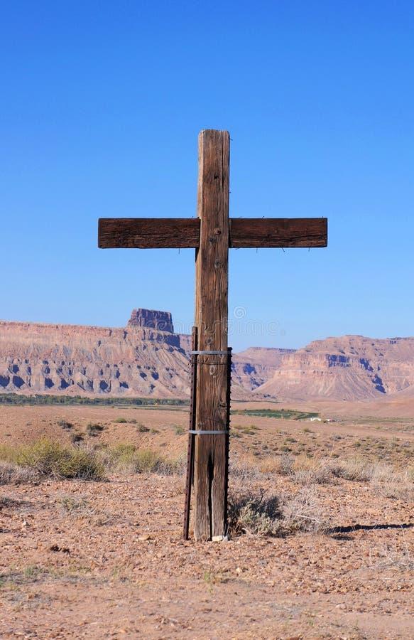 Croix en bois images stock