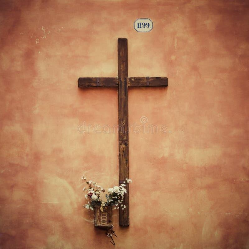 Croix en bois images libres de droits