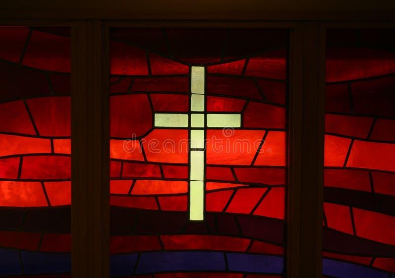 Croix en verre images libres de droits