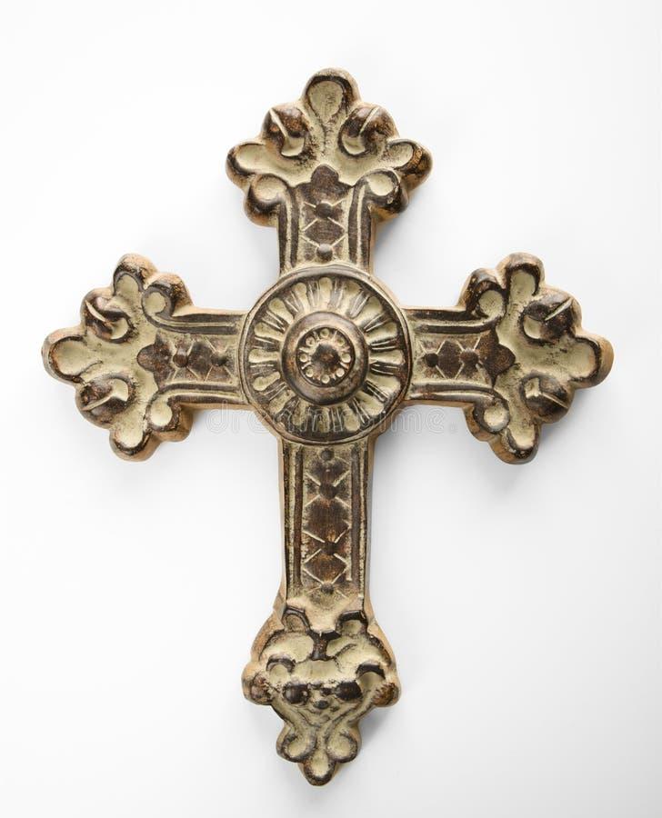Croix fleurie. photos libres de droits