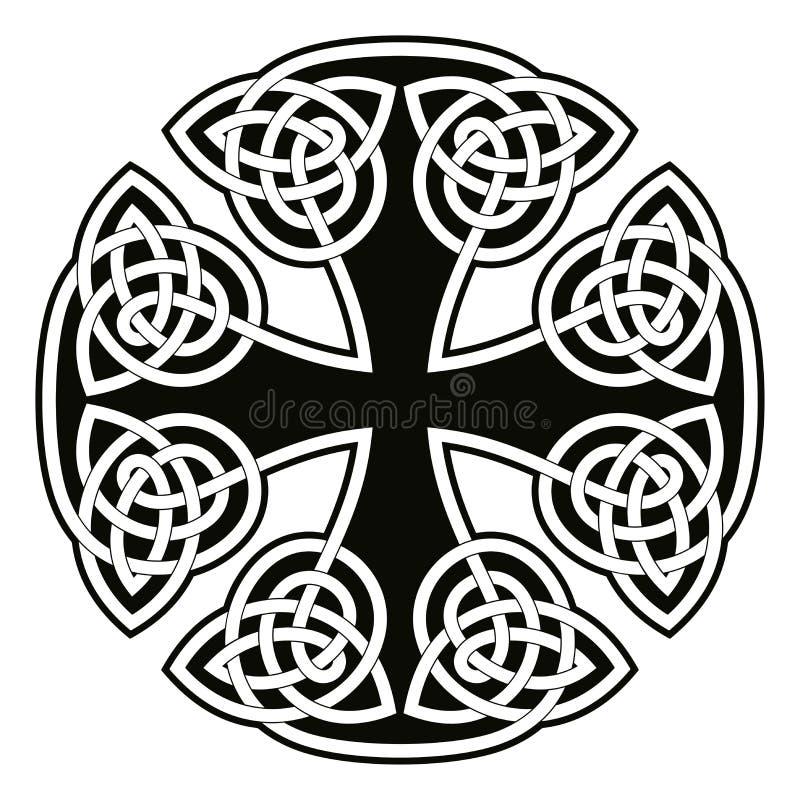 Croix nationale celtique illustration stock