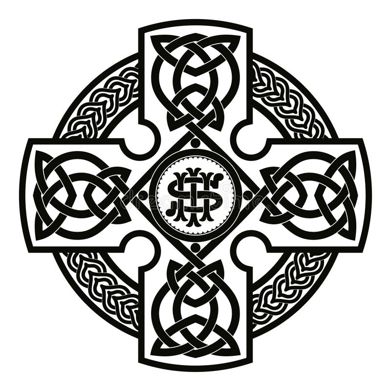 Croix nationale celtique illustration de vecteur