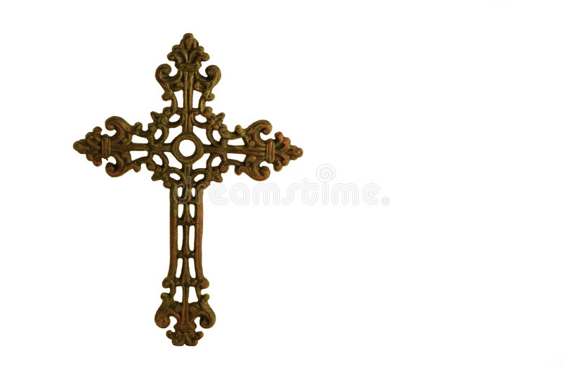 Croix ou crucifix photographie stock