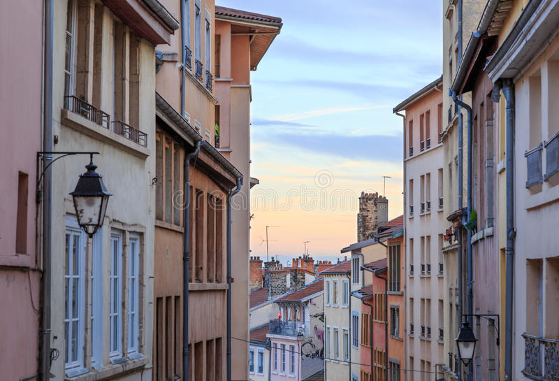 Croix Rousse royalty free stock photography