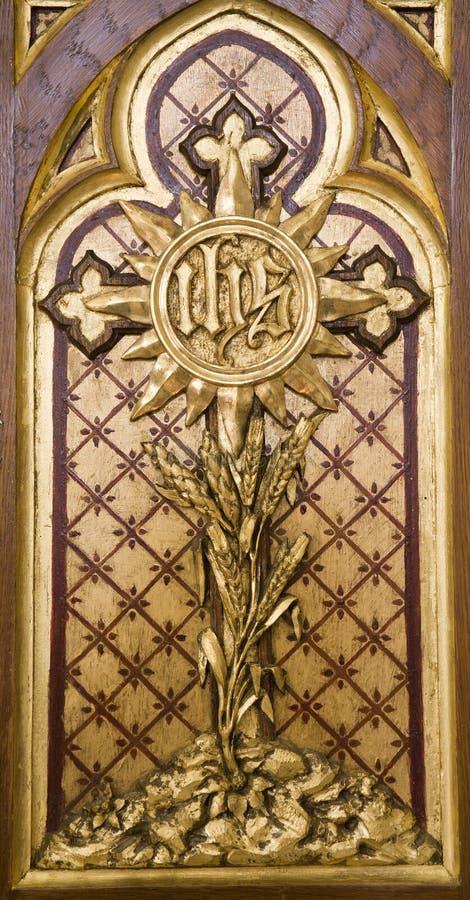 Croix sur l'autel de Vienne image stock