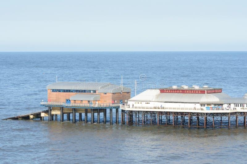 Cromer码头诺福克 库存图片