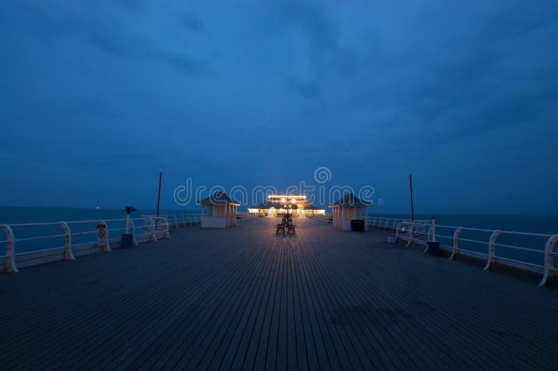 Cromer码头 免版税库存图片