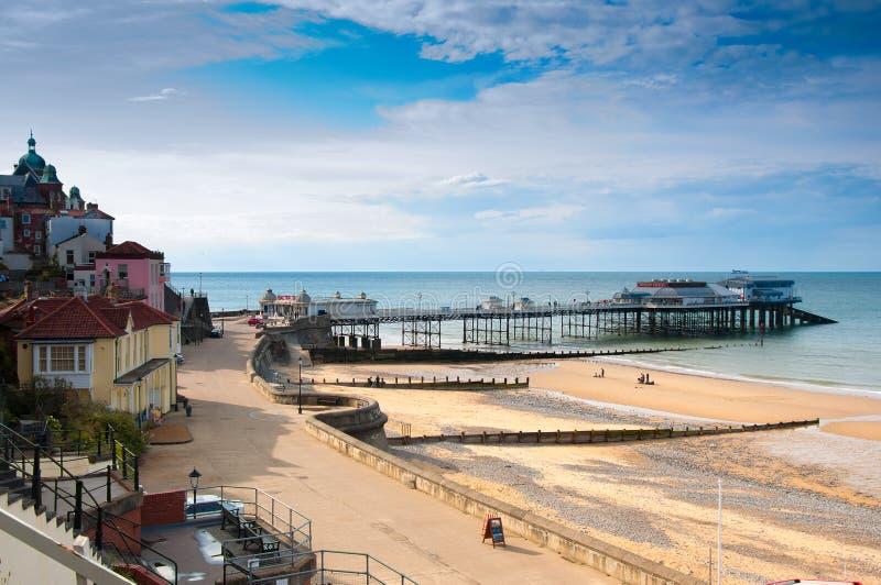Cromer. ciudad de la playa en Norfolk, Inglaterra fotografía de archivo