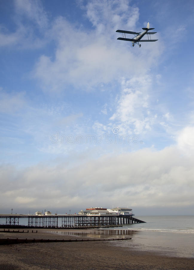 Cromer på den Norfolk kusten - England royaltyfri bild
