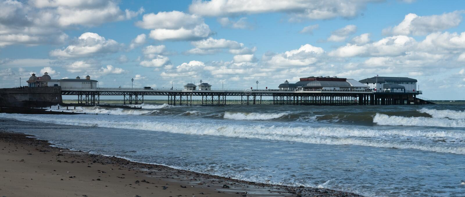 Download Cromer pier stock image. Image of england, britain, architectural - 21707645