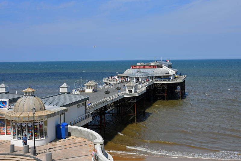 Cromer Pier, Cromer, Norfolk, England royalty free stock image
