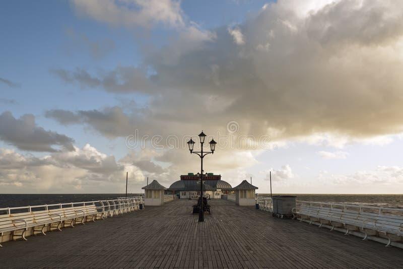 Cromer Pier. At first light, Cromer Norfolk UK, architecture, beach, building, exterior, built, structure, cloud, coastline, color, image, construction, day stock images