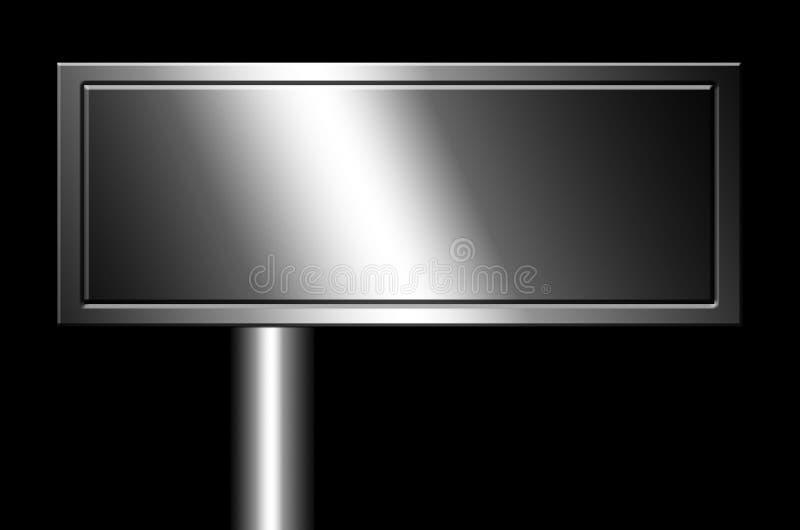 Download Cromo ilustração stock. Ilustração de negro, metálico - 10052404