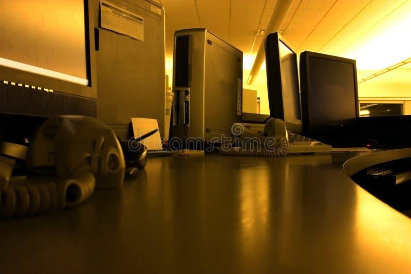 Cromo Control Center Imagens de Stock Royalty Free