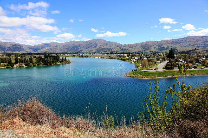 Cromwell city view royalty free stock image