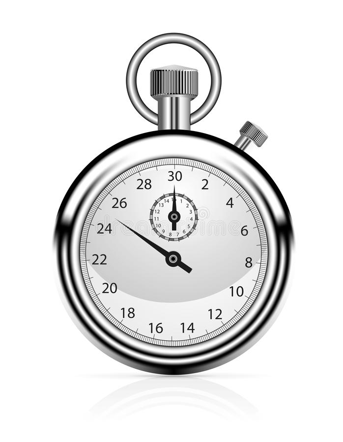 Cronómetro stock de ilustración