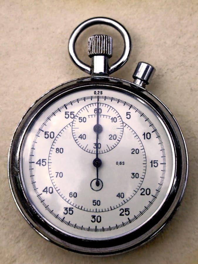 Cronómetro analogico foto de archivo libre de regalías