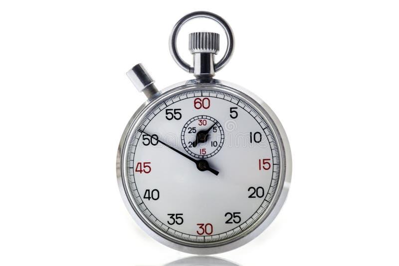 Cronómetro, contador de tiempo, cronógrafo, cronómetro clásico, plazo, plazo, imagen de archivo libre de regalías