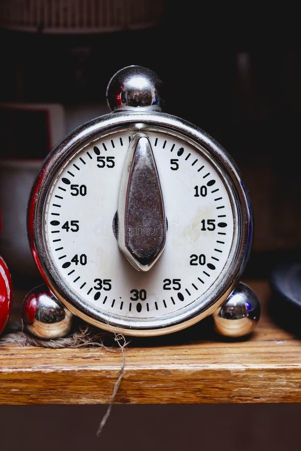 Cronómetro de la cocina retro fotos de archivo