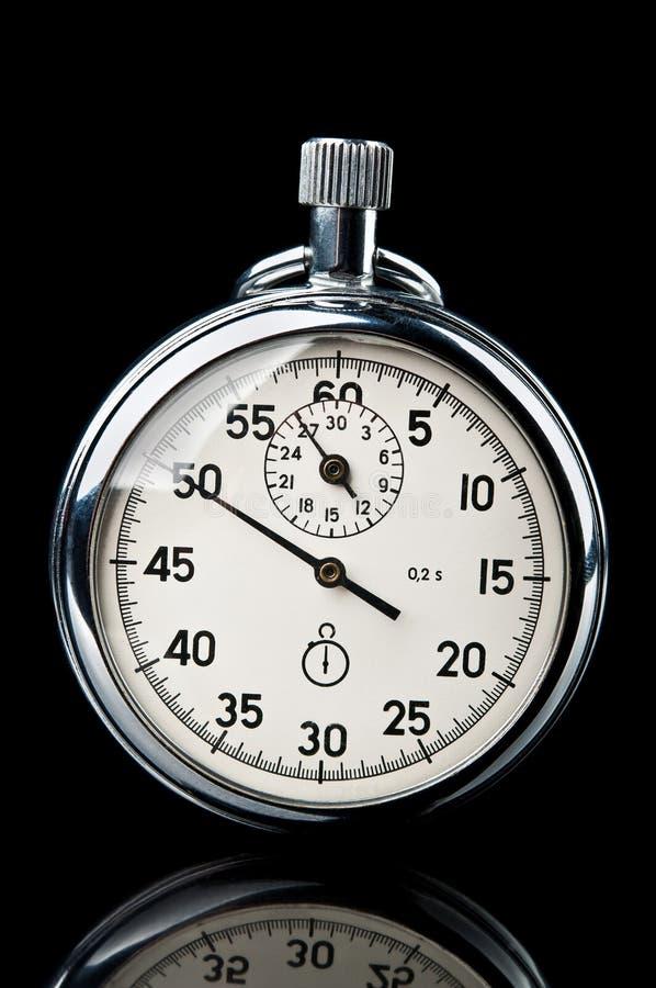 Cronómetro retro fotografía de archivo libre de regalías