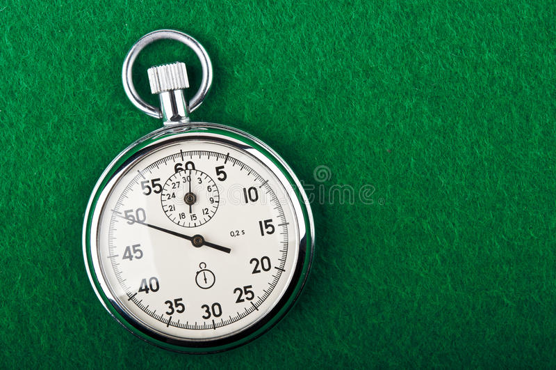 Cronómetro retro imagen de archivo libre de regalías