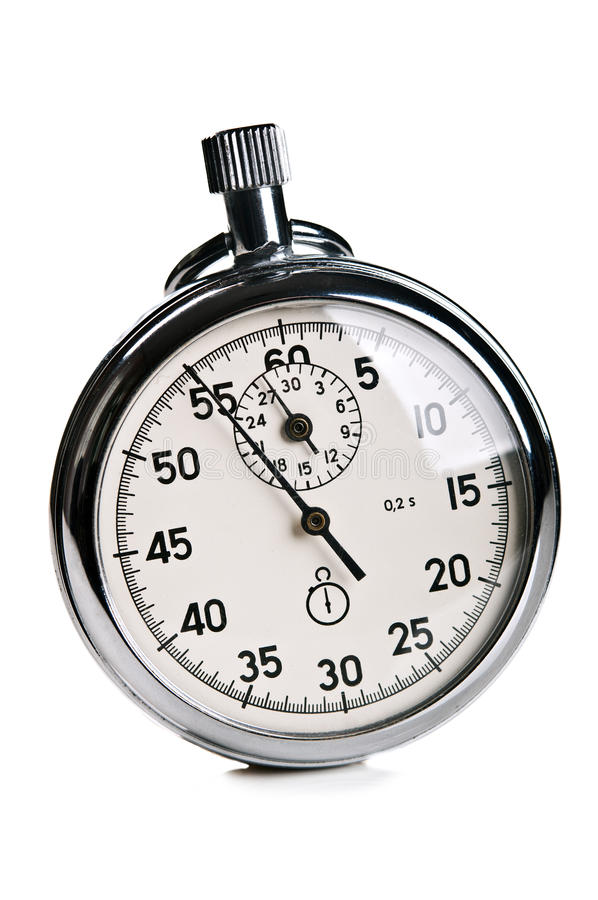 Cronómetro retro fotos de archivo libres de regalías