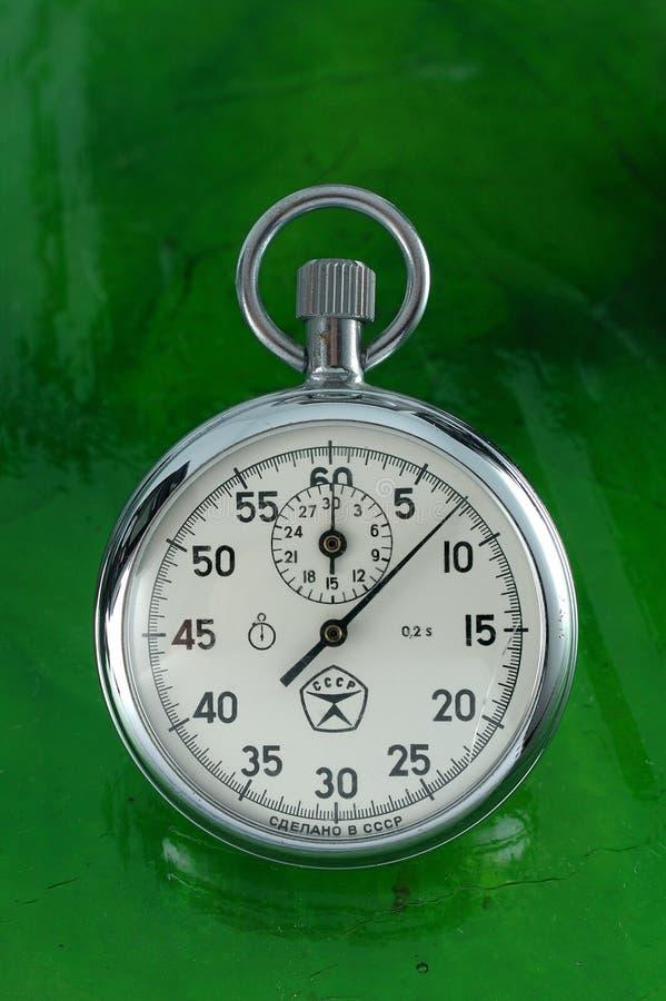 Cronômetro imagem de stock