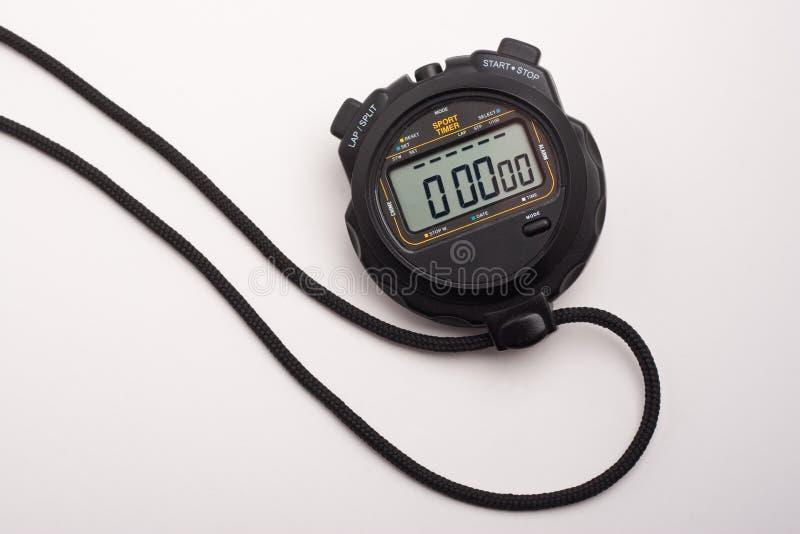 Cronômetro com zero foto de stock