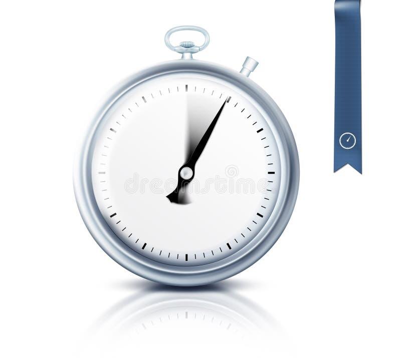 Cronômetro ou temporizador ilustração stock