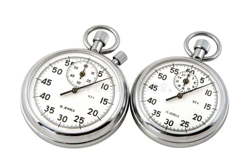 Cronômetros imagens de stock royalty free