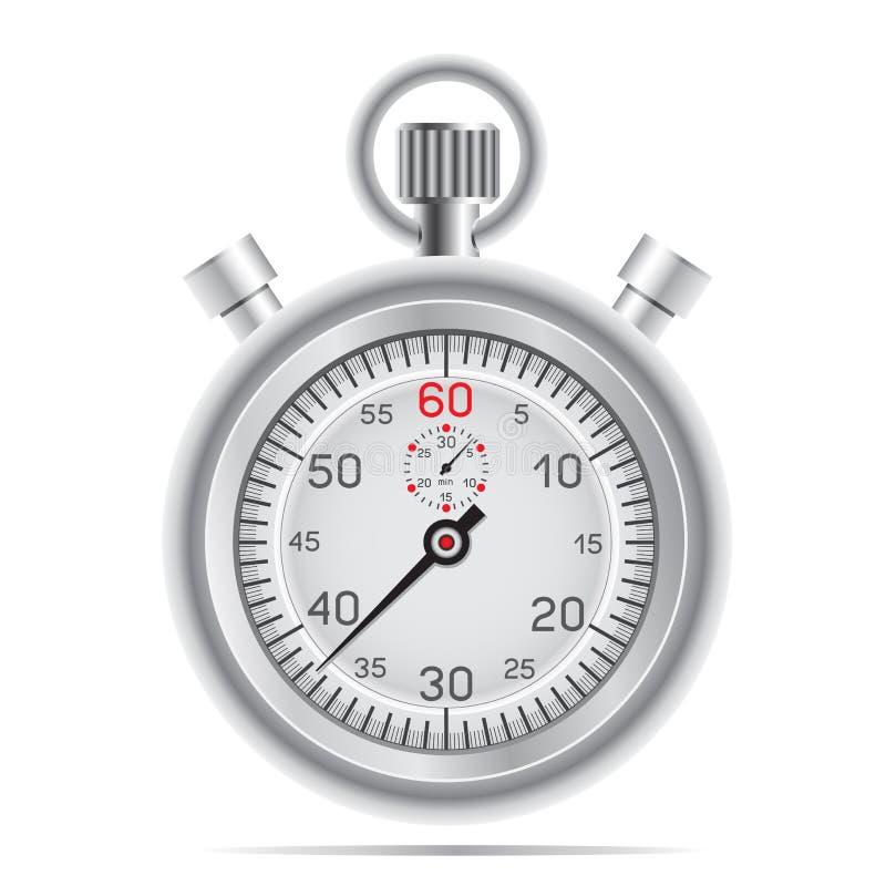 Cronômetro retro ilustração do vetor