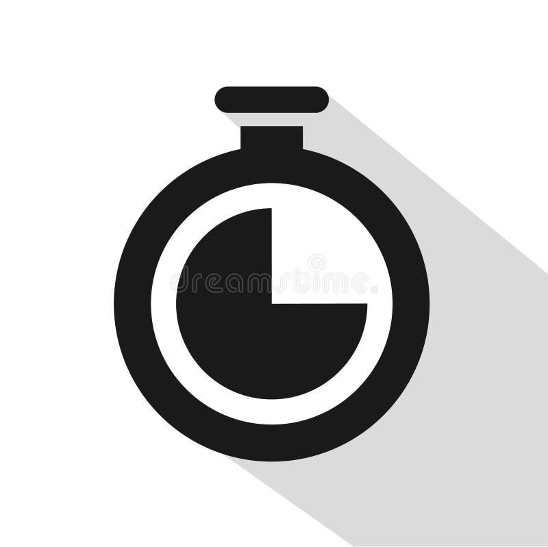 Crono progettazione dell'icona illustrazione di stock