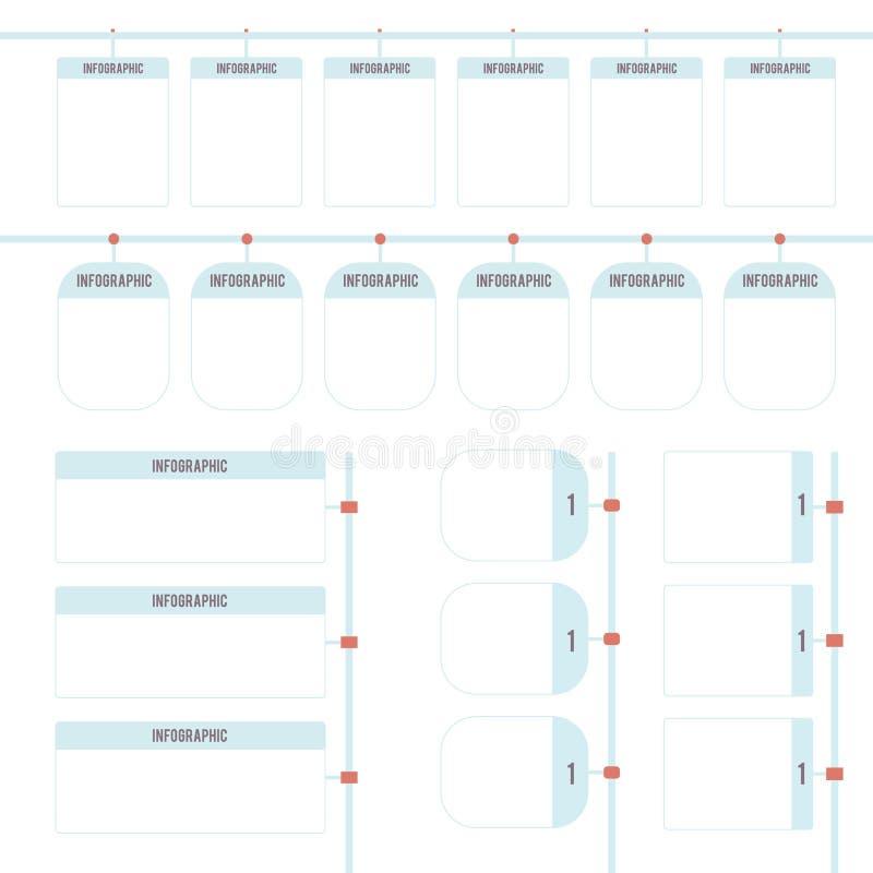 Cronologia per infographic fotografia stock libera da diritti