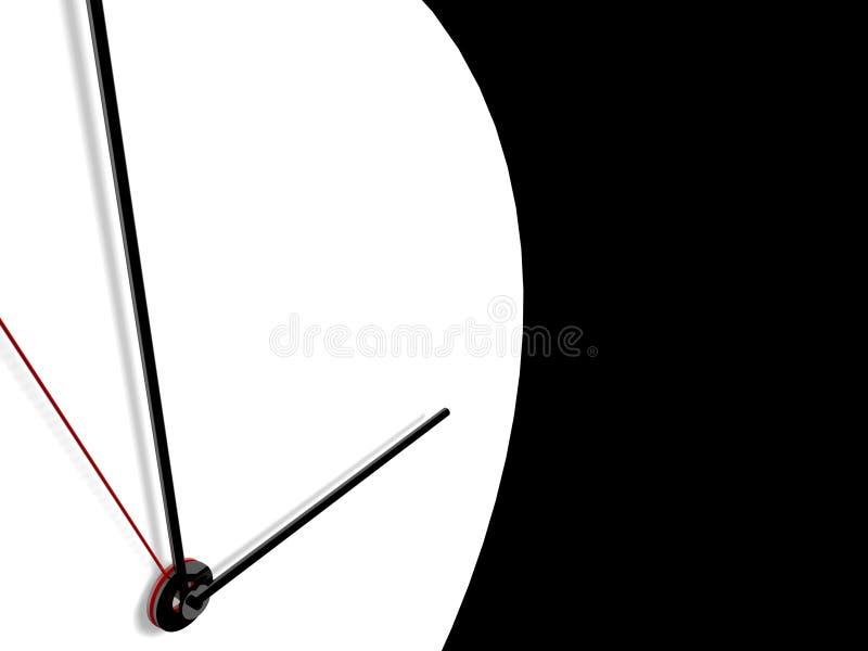 Cronometre no fundo ilustração do vetor