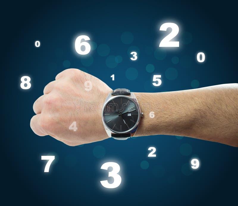 Cronometre o conceito ilustração stock