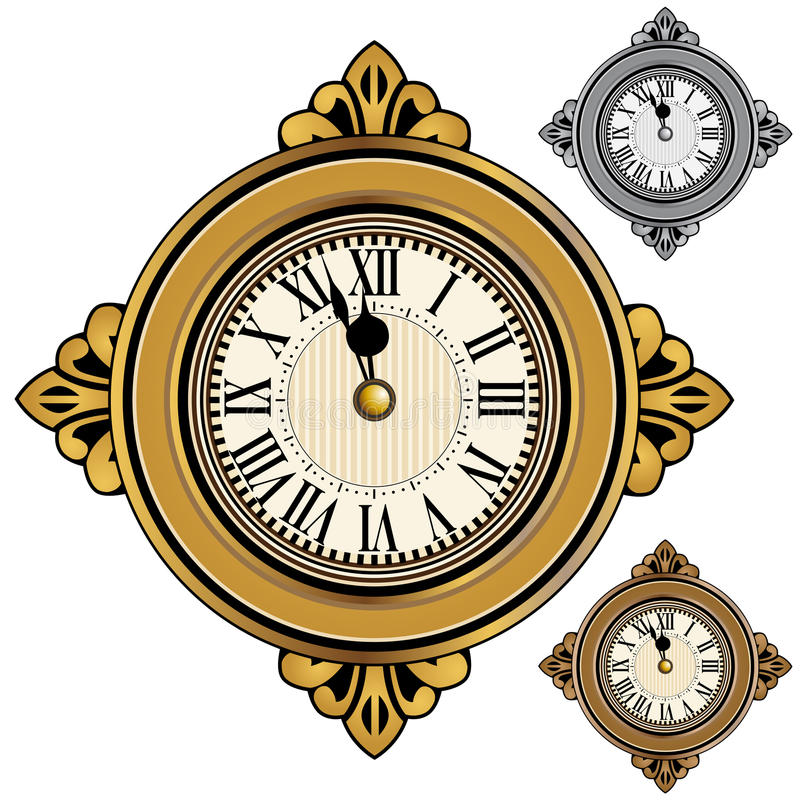 Cronometre o jogo ilustração do vetor