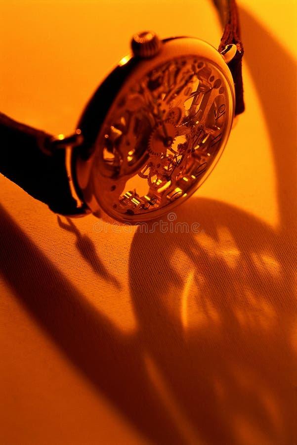 Cronometre a sombra fotografia de stock royalty free