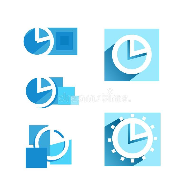 Cronometri l'icona, il vettore dell'icona di tempo, l'arte dell'icona di tempo, il logo dell'icona di tempo, tempo illustrazione vettoriale