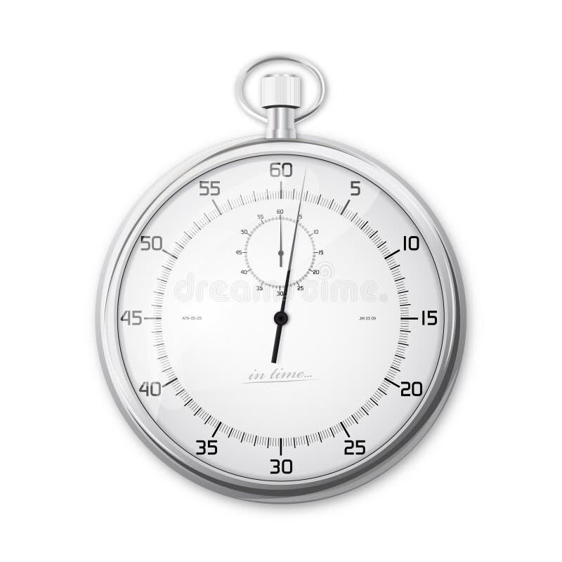Cronometro illustrazione di stock