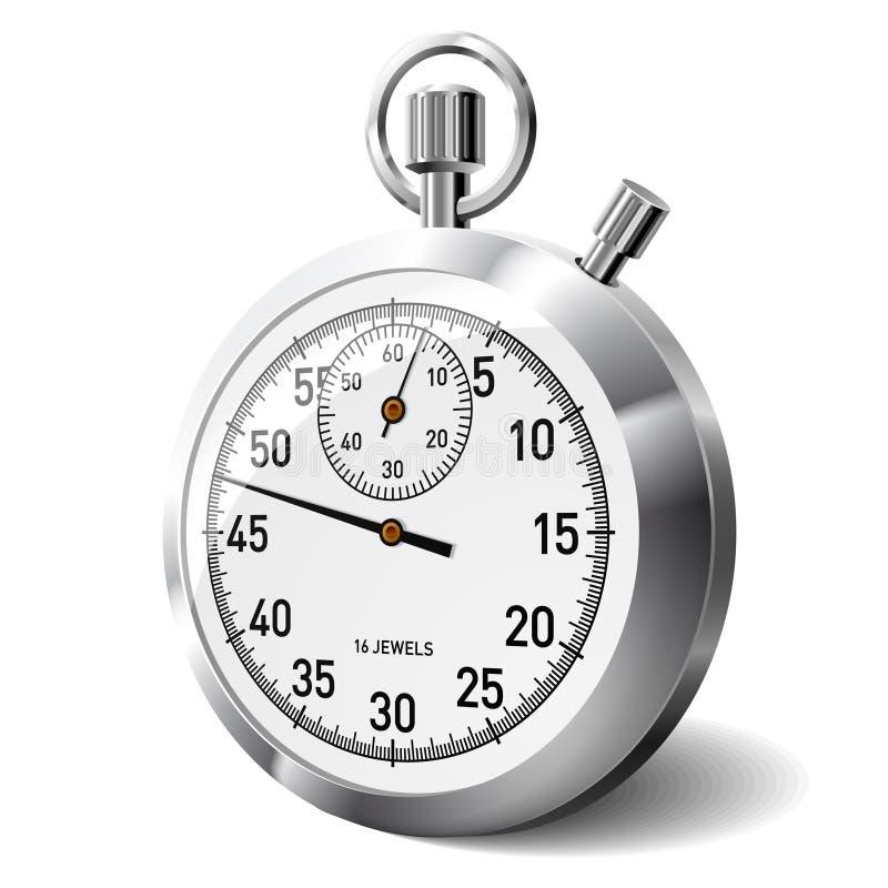 Cronometro di vettore illustrazione di stock