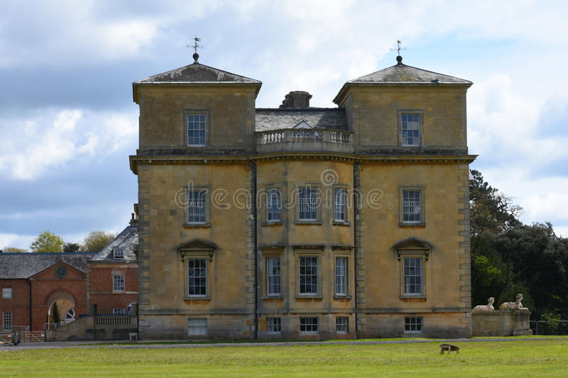 Croomehof, Croome D'Abitot, Worcestershire, Engeland royalty-vrije stock foto