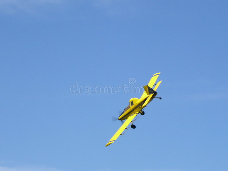 Download Crop Duster - Airplane stock photo. Image of skies, farmers - 4066