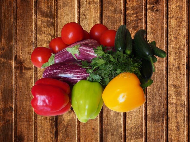 Crop of vegetables stock photo
