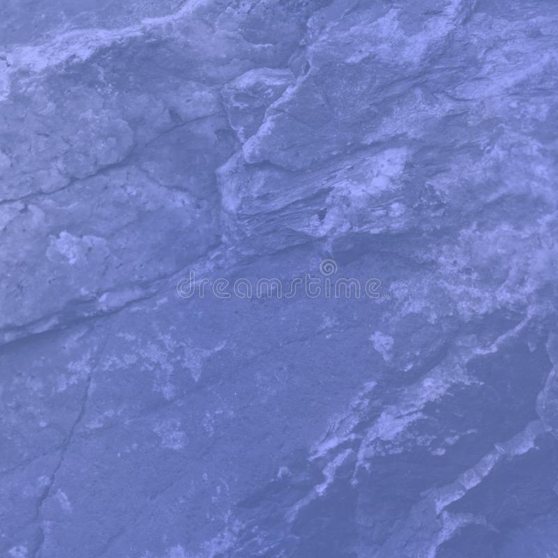 Crop view of stone background. Blue color texture royalty free stock photography