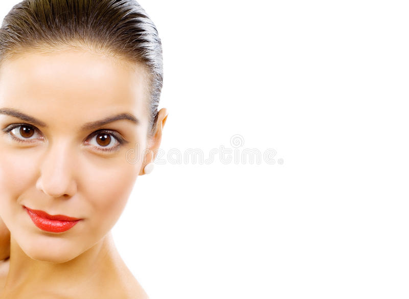 Download Cropped Image Of Beautiful Young Woman Stock Photo - Image: 11194644