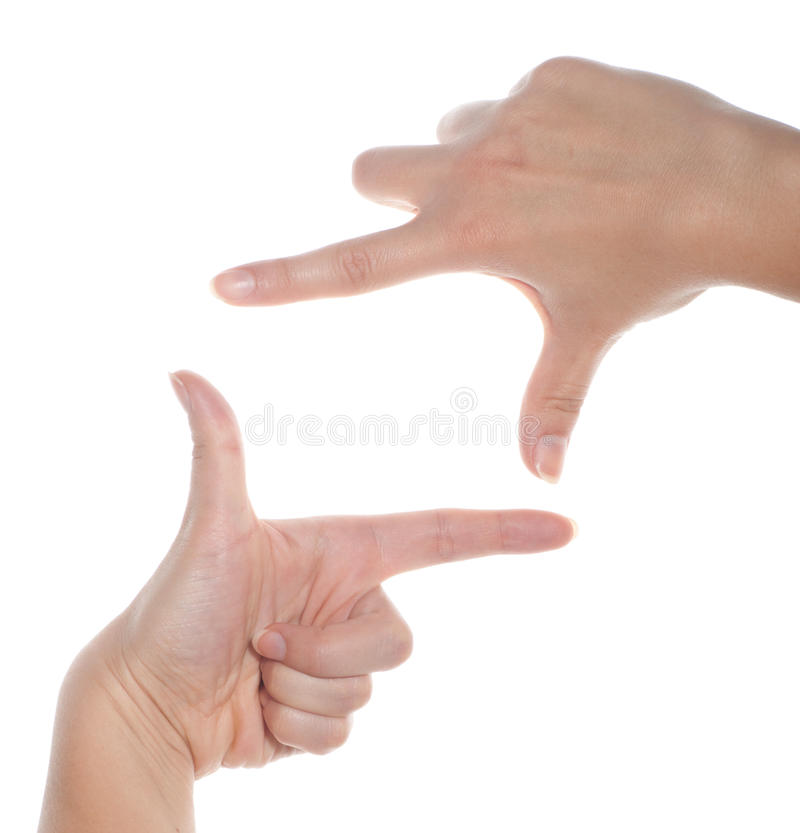 Download Cropped View Of Hands Collaborating To A Frame Stock Image - Image: 29030643