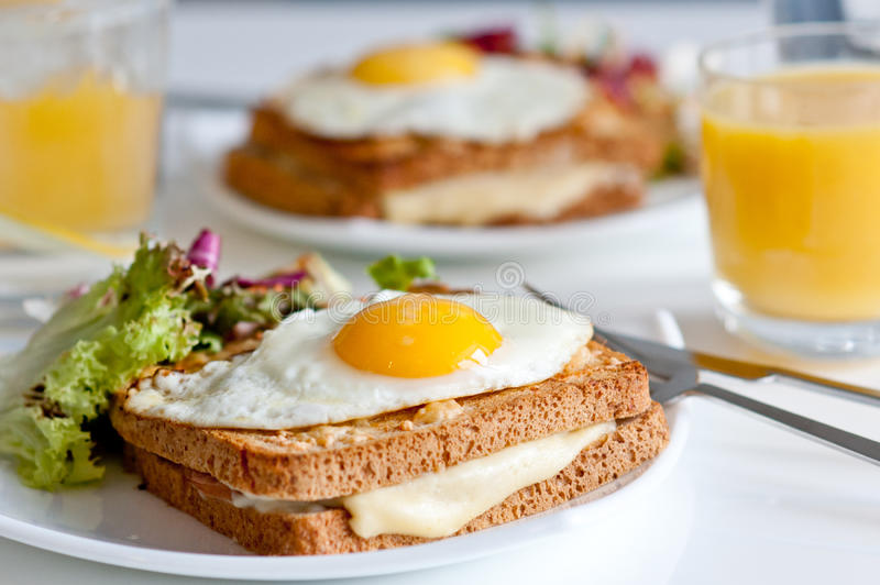 Download Croque Madame Royalty Free Stock Photography - Image: 26649067