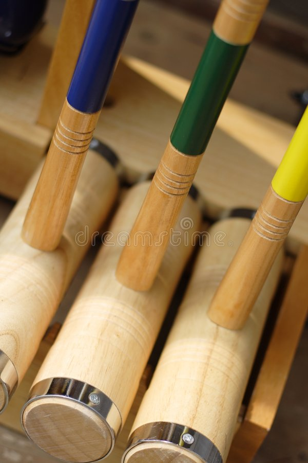 croquet arkivbild